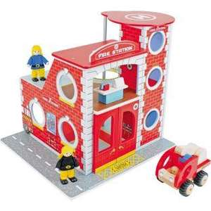 Chad Valley Wooden Fire Station Playset was £39.99 now £14.99 @ Argos