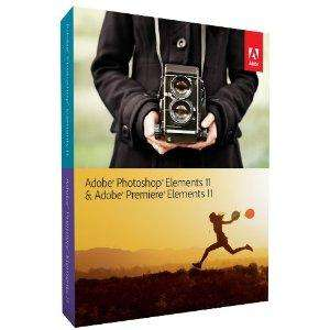 Adobe Photoshop Elements and Premiere Elements 11 Bundle @ Amazon for £49.99