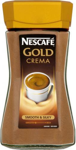 Nescafe Gold Crema (200g) was £6.88 now £4.00 @ Tesco