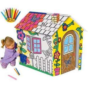 Chad Valley Colour In Playhouse, £6.65 R&C @ Argos