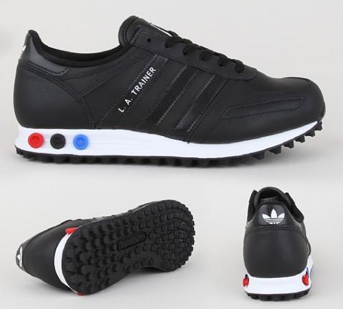 Adidas LA Trainer black all sizes £14.99 (rrp £69.99) @ Footasylum