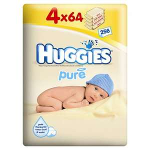 Huggies pure baby wipes save 1/3  in Ocado