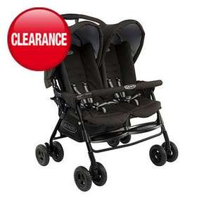 Graco Duo Twin Sport Pushchair now £78.93 del @ Asda Direct (price inc £8.95 del)