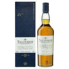 TALISKER SINGLE MALT SCOTCH WHISKY 10 yrs £17 @ TESCO