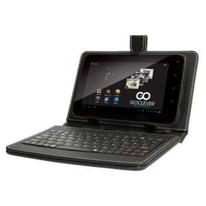 GoClever 7 inch Android 4.0 Tablet with 4GB Storage, Google Play and Keyboard Wallet at  Ideal World