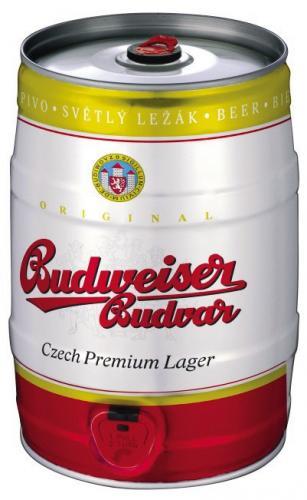 Budweiser Budvar 5l Keg £9.99 @ B&M