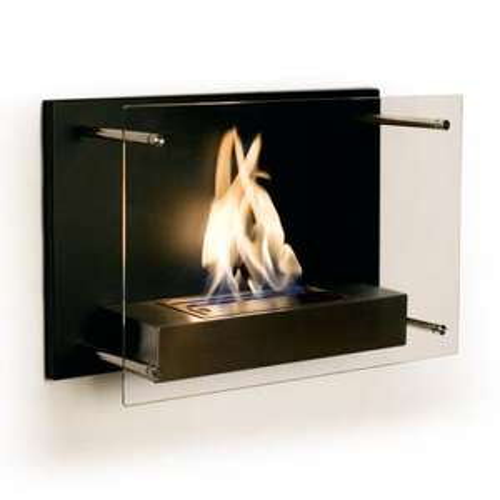 Capri Flame flueless bio ethanol fire £245 using voucher code @ Gel Fireplaces