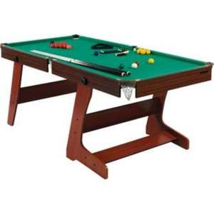 HALF PRICE Hy-Pro 6ft Folding Snooker and Pool Table £99.99 down from £199.99 at Argos + £8.95 delivery