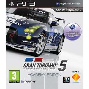 Gran Turismo 5: Academy Edition PS3 @ Amazon - £14.99