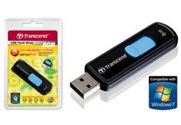 Transcend 8GB USB Drive Free Delivery £5.64  at Offtek