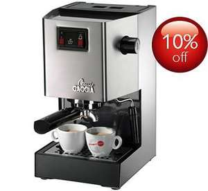 Gaggia Classic Manual Espresso RI8161/40 at Philips £157.50 Delivered
