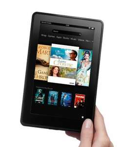 Kindle Fire £99 @ John Lewis (2 Year Warranty)  Instore collection