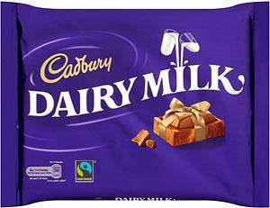 Cadury Chocolate 400g for £2 @ Morrisons (ASDA and Spar poss)