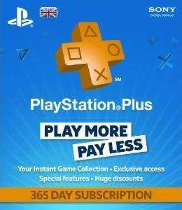 Playstation Plus Card PSN 1 Year Subscription (PS3) for £29.95 @ The Game Collection