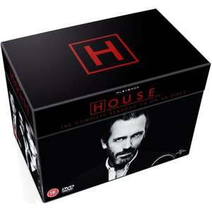 HOUSE M.D. Complete DVD Box Set Seasons 1 - 8 @ Tesco £47.00