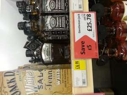 Gentleman jack at Morrisons - £25.78