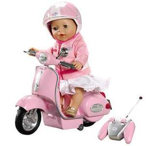 Baby Born R/C City Scooter 9.99 at Home Bargains not online at moment just instore
