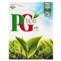 PG Tips 240 pyramid tea bags - £2.84 @ Co-Op