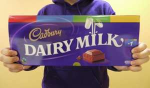 Cadbury Dairy Milk Chocolate Bar 1kg £6 @ Wilkinsons (delivered to store)