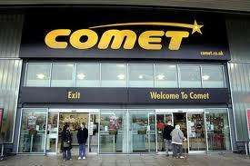 70% off all stock in comet, final day of clearance