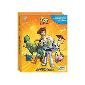 Toy Story My Busy Book in store Asda for £5