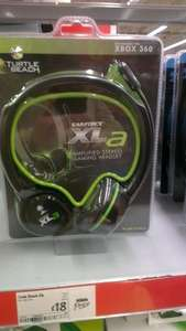 Turtle beach headset  Xbox 360 £18.00 @ Asda instore