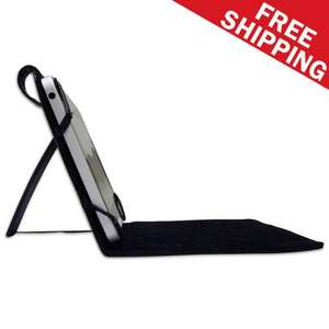 "7"" inch high quality LEATHER look tablet pc case with stand £3.30 @ EBAY / latestdealsshop"