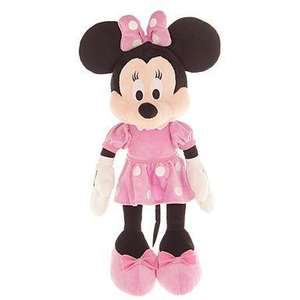 Disney 17 Inch Minnie & Mickey Mouse Plushes were £25 each now £11.25 del @ Debenhams (use code)