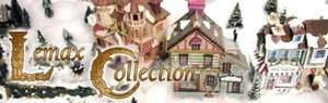 Lemax christmas collectable pieces @ Dawsons Department Store