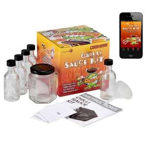 Monster Chilli Sauce Kit with Free App for iphone / android £11.95 from S-GIZMOS ON aMAZON UK