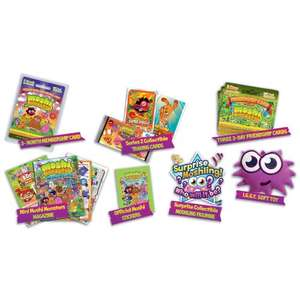 moshi monster super fan hq pack - 3 month sub, plus, stickers ect @ debehams  (code to get 10% off  bm36 = £15.84)