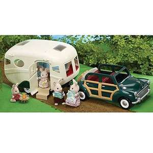 Sylvanian Families The Caravan and Family Car was £60 now £37.80 del @ Debenhams (use code BM36)