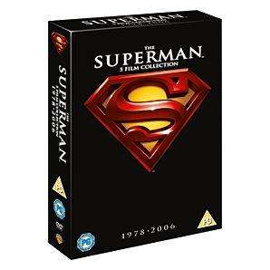 Superman Collection 1 - 5 - DVD Boxset for £10.00 Delivered @ Asda Direct