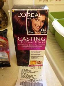 £1! L'Oreal Paris Casting Creme Gloss. Chocolate Truffle 515 @ Asda