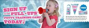 Free potty training kit inc some £1 off vouchers and stickers :)