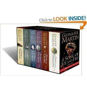 A Song of Ice and Fire - A Game of Thrones: Paperback Box Set - £21 @ Amazon