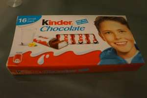 KINDER CHOCOLATE mini BARS £1.19 @ Lidl