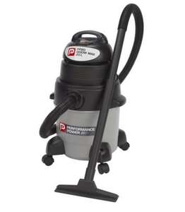 B&Q====Performance Power1300W Wet/Dry Vacuum PP20 Grey/Black 20L £31.98 Free Reserve for Collection