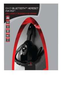 Ps3 Wirelwss Headset £6.99 at Game Daily deal