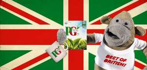 Free Mug and Monkey Toy with PG Tips 80bag pack via Facebook