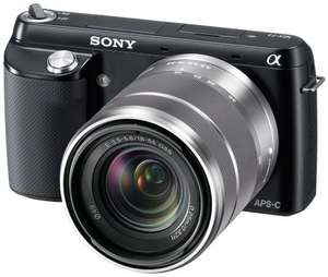 Sony Nex F3 with 18-55mm kit lens 326.95 delivered -> 276.95 after cashback @ UK Digital