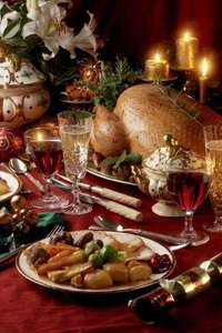 Christmas dinner for 8 - Melange of shops - £20.12
