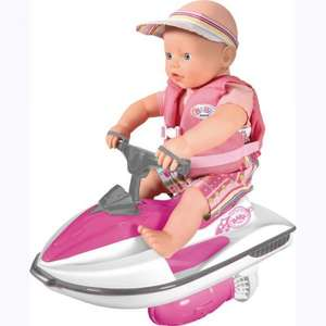 My Little Baby Born Waterfun Jet Ski and Doll now £20.00 del to store @ Asda