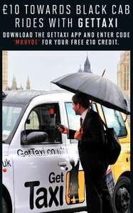 £10 free towards a cab with gettaxi.co.uk (with code)