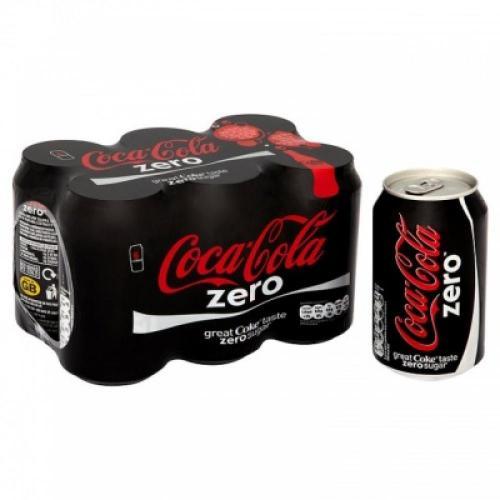 6 Pack of Coca-Cola Zero £1.00 @ Poundland insore