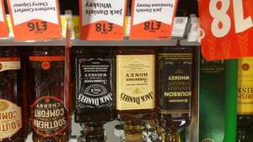 Jack Daniels Honey £18 at Morrisons