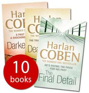 The Book People - Harlen Coben collection of 10 books for £8.99 instead of £69.90