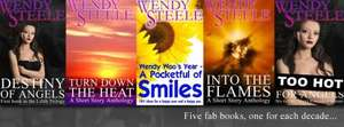 Author Wendy Steele- Free books on Amazon to celebrate her 50th Bday!