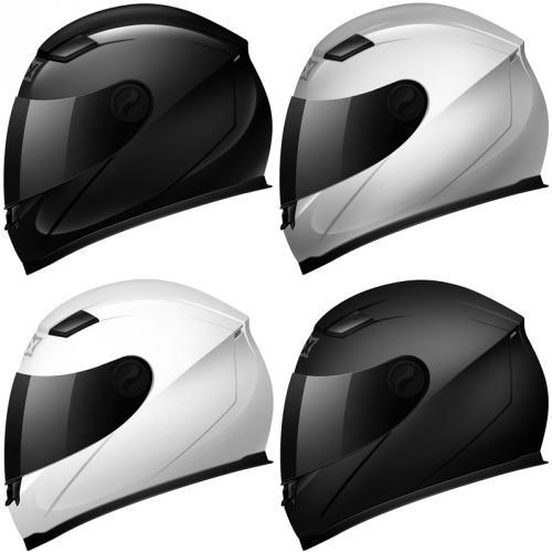 SHOX SNIPER FULL FACE MOTORBIKE MOTORCYCLE BIKE SCOOTER CRASH HELMET GHOSTBIKES UK eBay- 50% OFF - £29.99