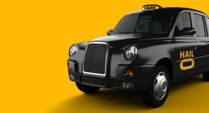 Get Up To £10 off a Black Cab with Hailo and Mastercard (London)
